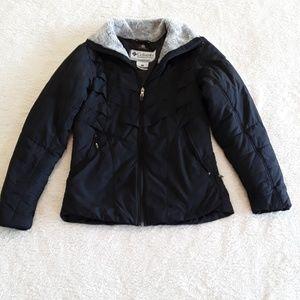 Columbia   Faux Fur collared Puffer Jacket